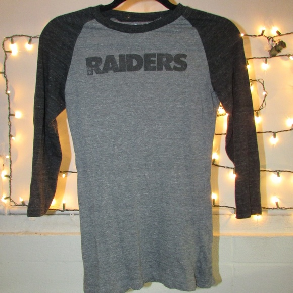 5210d977 Touch by Alyssa Milano Tops | Womens Oakland Raiders Half Sleeve ...